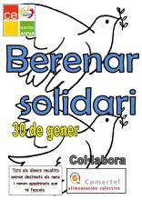 Cartell del berenar solidari